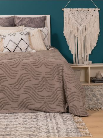 Duvet Cover Acapulco Natural Jalisco Grey