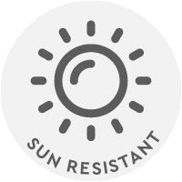 Sun Resistant