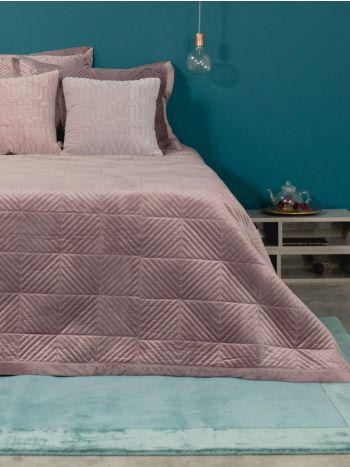 Κουβερλί 220X240 Luxury Triangle Pink
