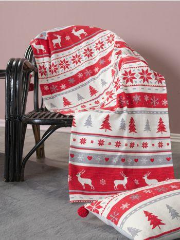 Ριχτάρι Symmetry Living 130X180 Μονοθέσιο Reindeer