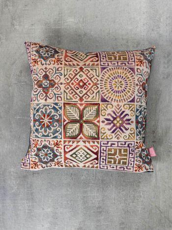 Διακοσμητική Μαξιλαροθήκη Symmetry Living 45X45 Kube Beige