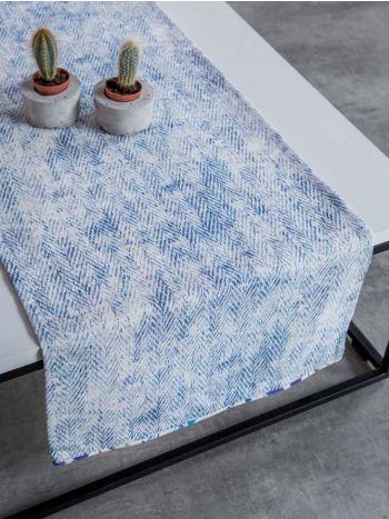 Ράνερ Τραπεζιού Symmetry Living 50x140 Blue Terra
